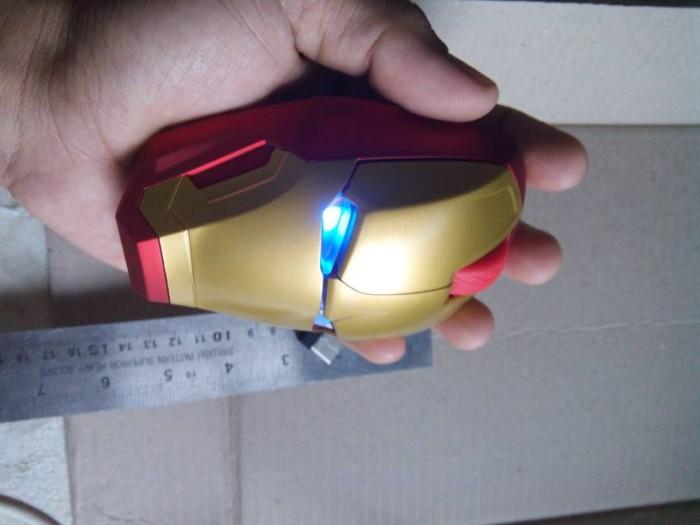 harga Mouse unik action figure kepala iron man wirelles ironman Tokopedia.com