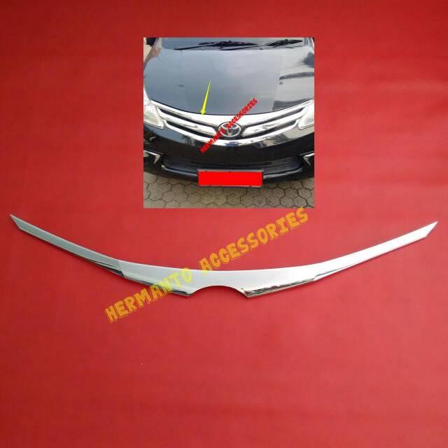 harga Garnish/cover/list/lis kap mesin atas all new avanza xenia Tokopedia.com