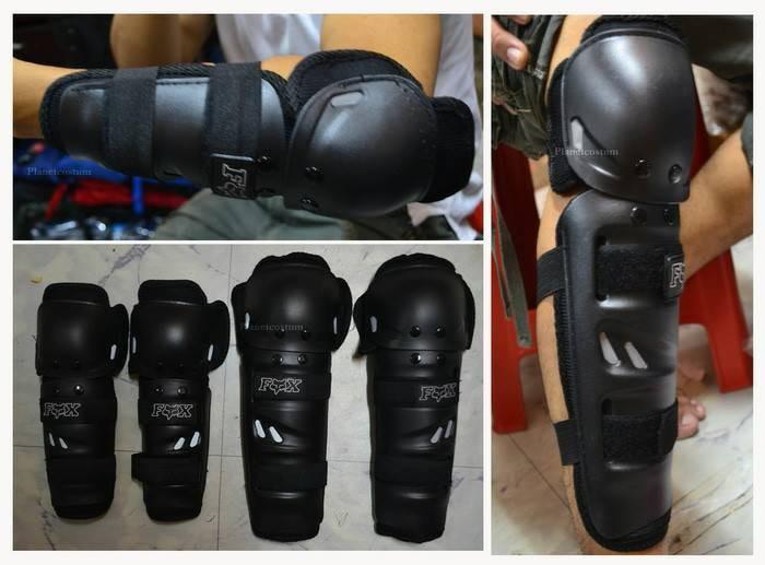 harga Decker fox motor knee & elbow pad ( kneepad deker protector ) Tokopedia.com