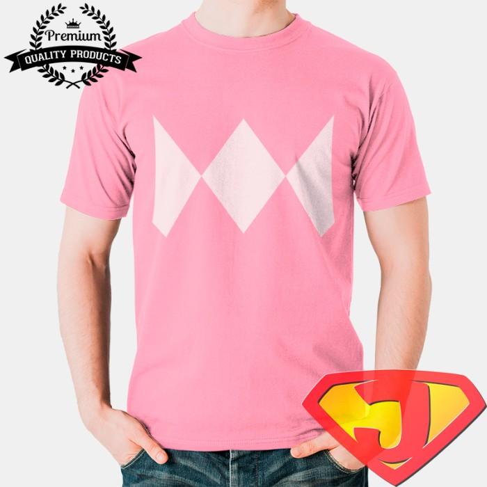 harga Kaos kostum power rangers pria / wanita - ranger pink Tokopedia.com