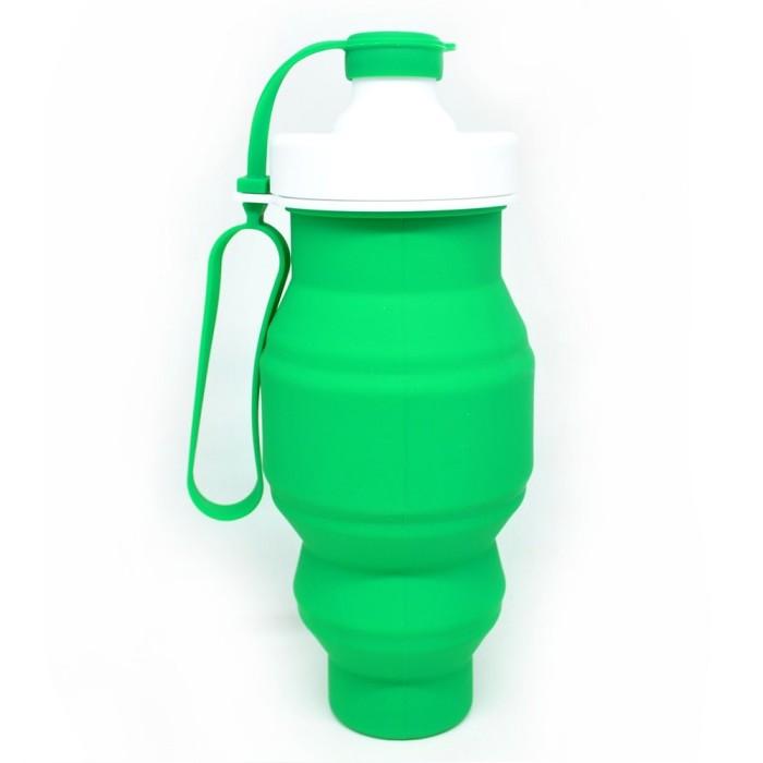 harga Sillicon folding bottle 520ml / botol minum lipat Tokopedia.com