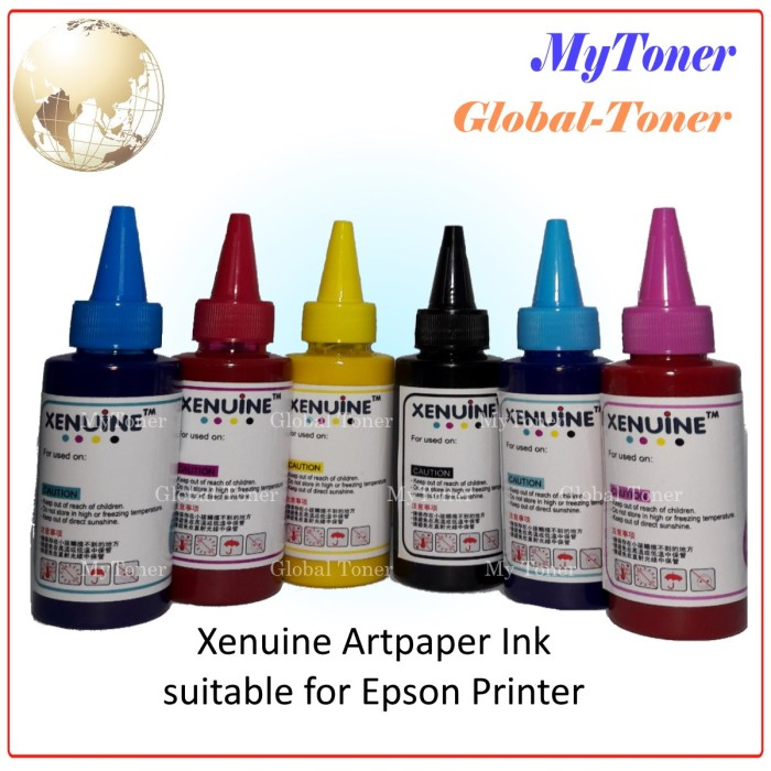 harga Tinta korea printer inkjet artpaper / art paper l-series korea 100ml Tokopedia.com