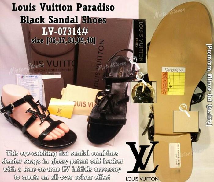 36f1520dad7c Jual SALE 50%!! Sandal Wanita LOUIS VUITTON Paradiso LV-07314 ...