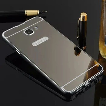 Case Mirror Metal Bumper Sliding Samsung Galaxy A7 2016/A710