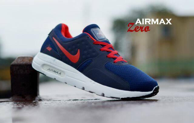harga Sepatu casual running fitnes pria nike airmax zero navy Tokopedia.com