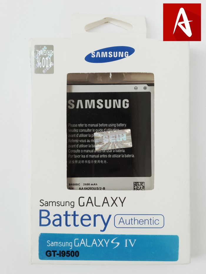 BATTERY BATERAI BATRE SAMSUNG GALAXY S4 GT-i9500 ORIGINAL