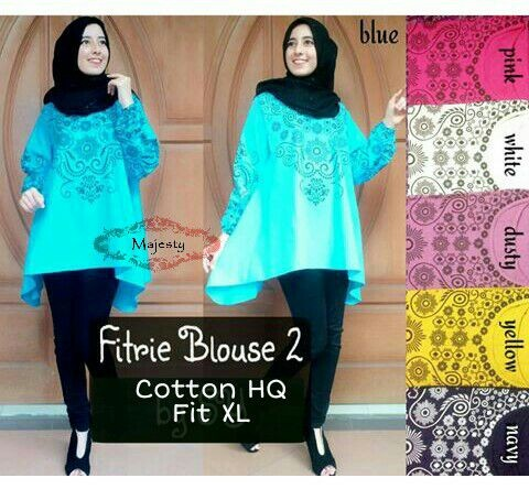 SUPPLIER HIJAB : FITRIE BLOUSE 2 BY MAJESTY