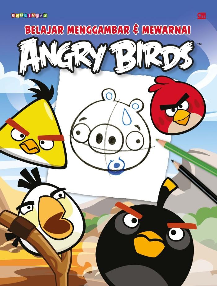Jual Angry Birds Belajar Menggambar Mewarnai Oleh Rovio Kota