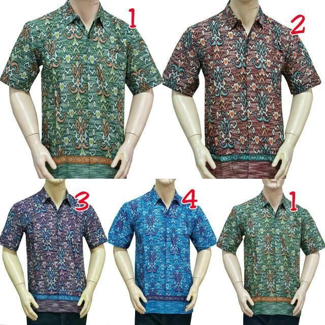 harga Baju batik solo - kemeja batik motif etnik - batik solo Tokopedia.com