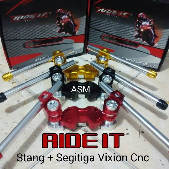 harga Stang segitiga vixion ride it / stang set vixion / stang jepit vixion Tokopedia.com