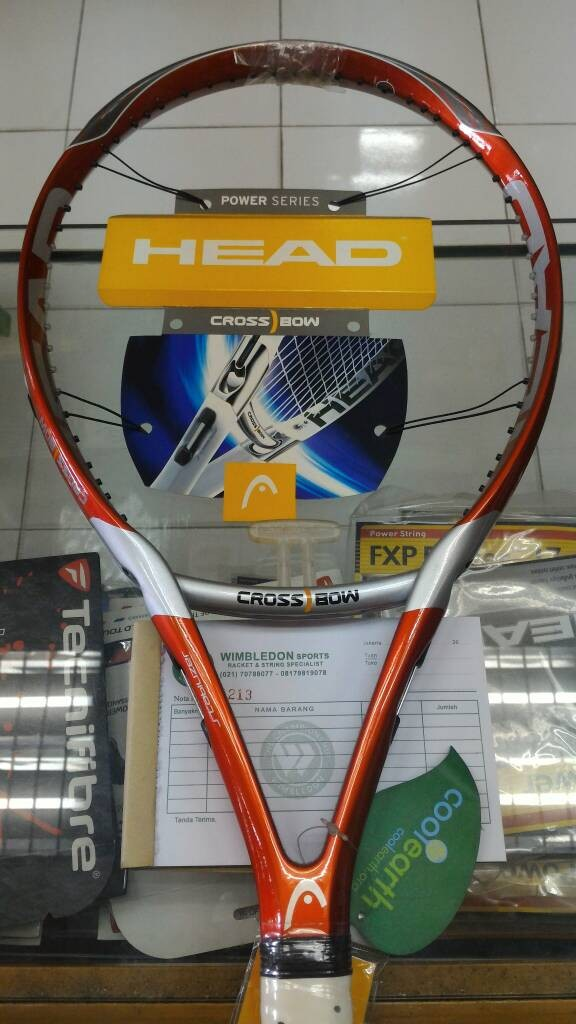 harga Raket tenis head crossbow 6 original Tokopedia.com