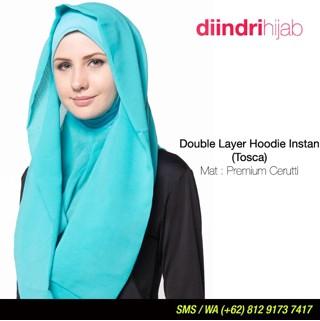 hijab instan hoodie / jilbab instan / kerudung instan hoodie
