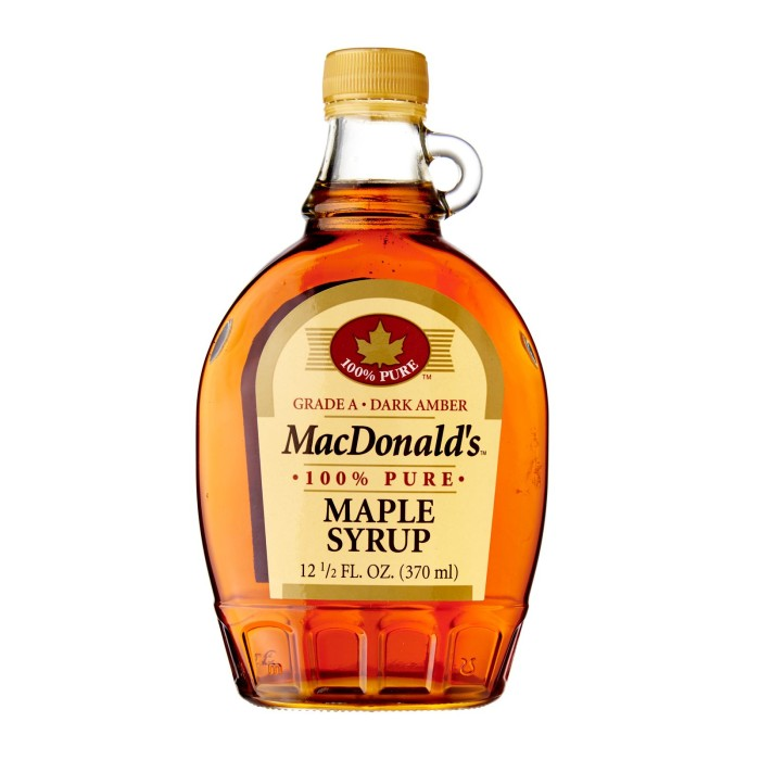 harga Macdonald's grade a 100% pure maple syrup - sirup maple import Tokopedia.com