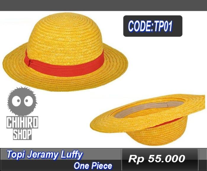 Jual TOPI JERAMI LUFFY ONE PIECE - chihiro  0ae57759bb