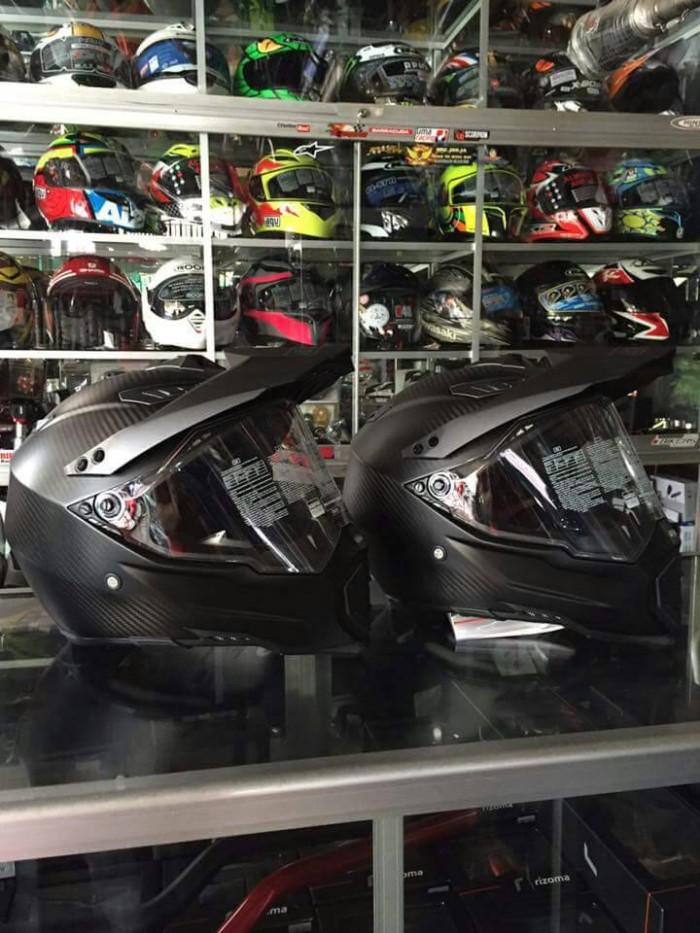 helm agv ax dual carbon 2