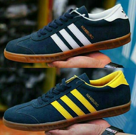 Jual Sepatu Original Adidas Hamburg Man Premium Jakarta Pusat
