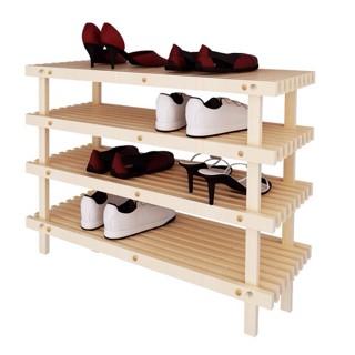Rak Sepatu Kayu