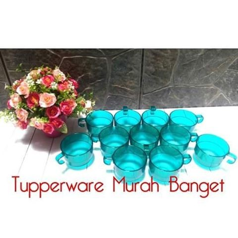harga Tupperware watercolor cup (12pc) Tokopedia.com
