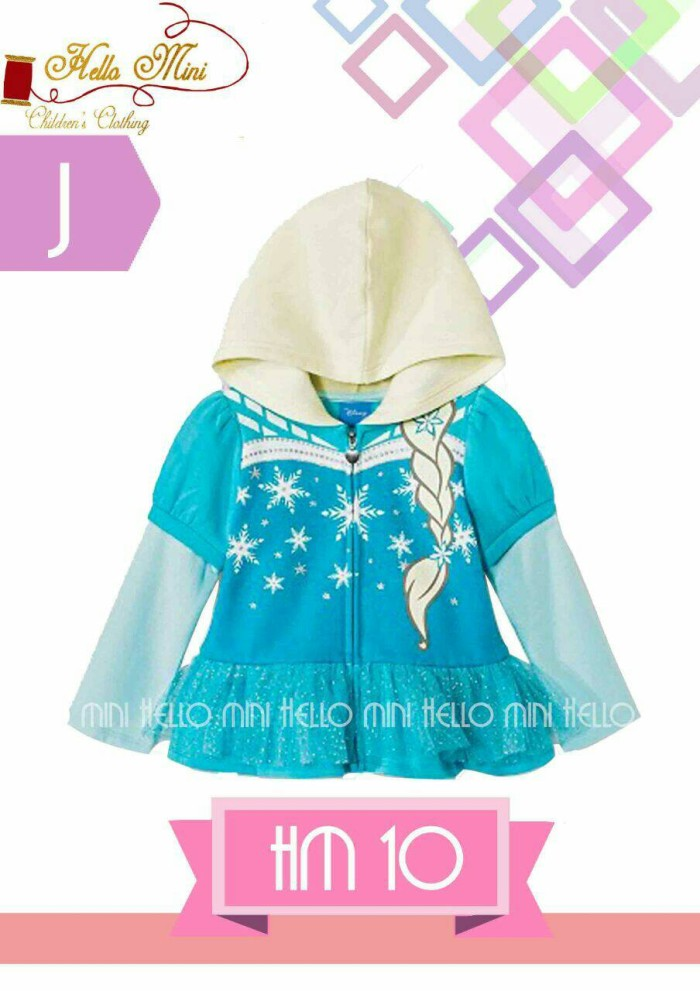 harga Jacket frozen / jacket import / jacket h&m / jacket anak perempuan Tokopedia.com