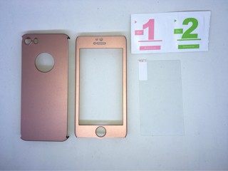 Iphone 5 / 5s/ SE Rose gold 360 full protection Neo Hybrid case