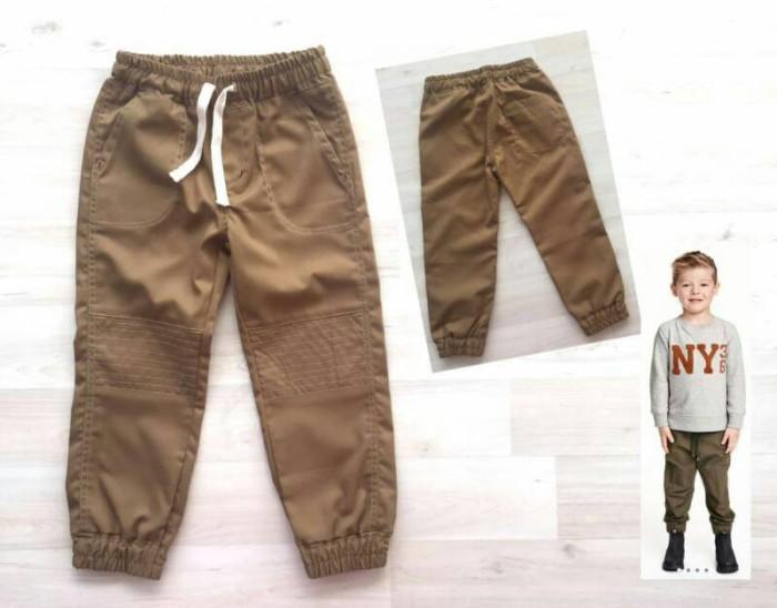 harga 1t, 2t, 3t Celana Panjang Coklat Muda Anak Laki Jogger Pants Tokopedia.com