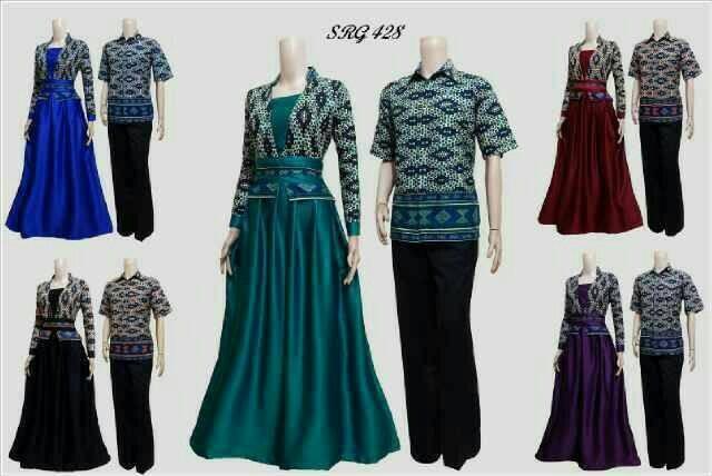 harga Sarimbit couple batik airin 03 Tokopedia.com