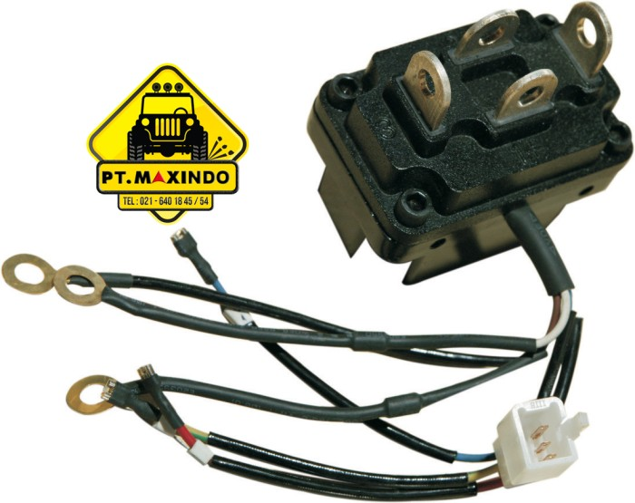 harga T-max integrated solenoid 12 volt untuk winch t-max tipe ew series Tokopedia.com
