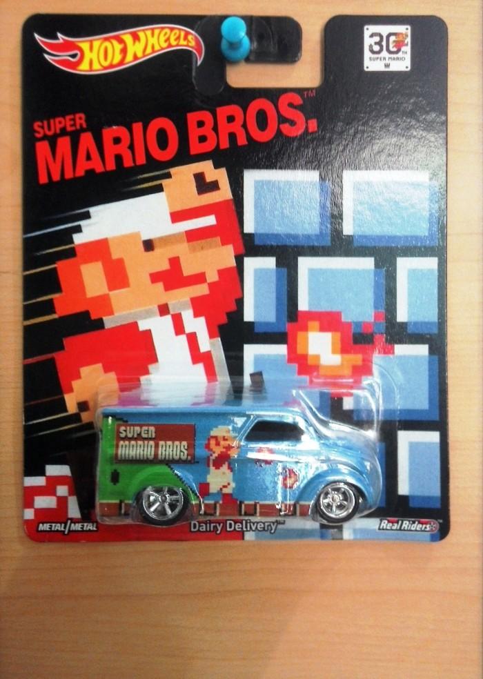 harga Hot wheels dairy delivery nintendo super mario bros Tokopedia.com