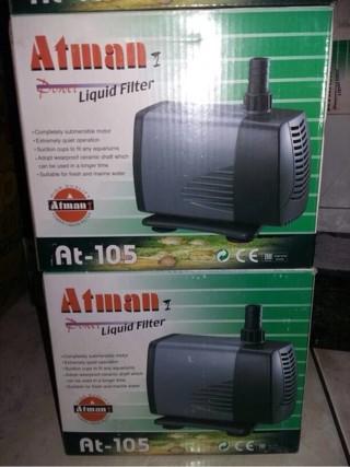 harga Atman at 105 / pompa air aquarium Tokopedia.com