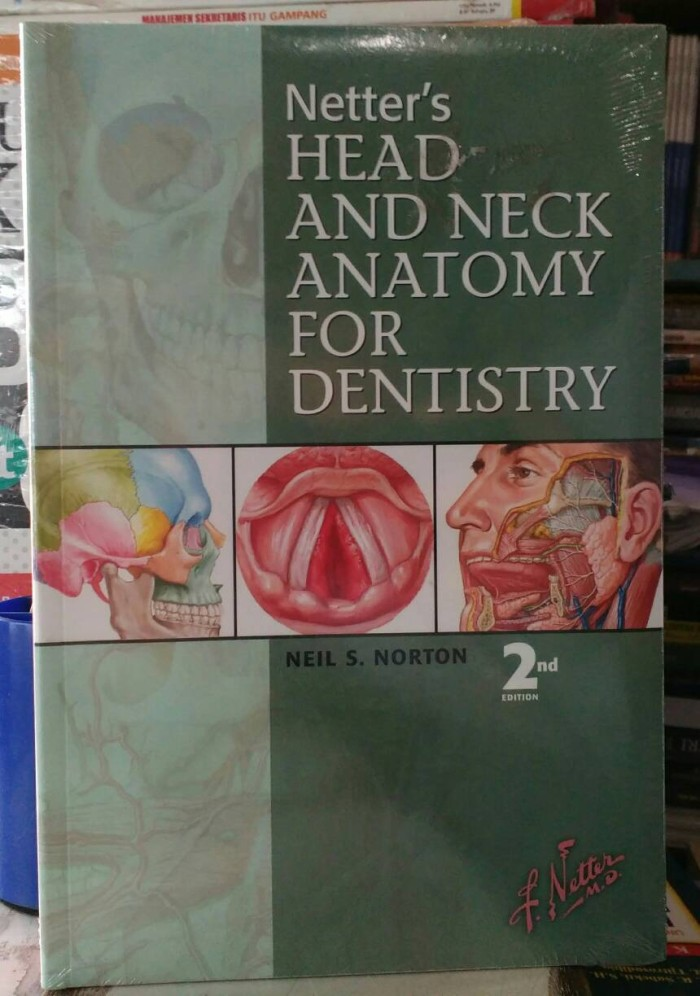 Jual Netter\'s Head And Neck Anatomy For Dentistry 2nd Edition ...