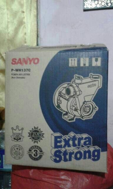 pompa air sanyo