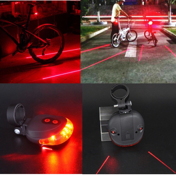 harga Lampu led sepeda / bicycle laser strobe tailight 5 led Tokopedia.com