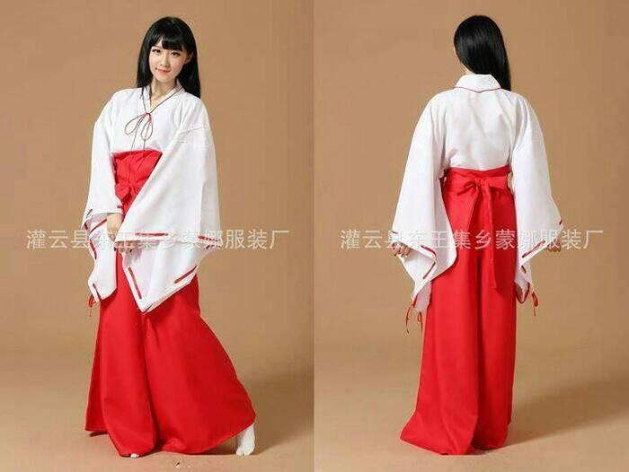 harga Yukata kimono kostum kikio kikyo inuyasha Tokopedia.com