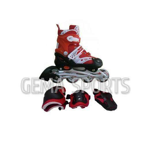 harga Sepatu roda inline skate bajaj 6032 free dekker - merah- Tokopedia.com