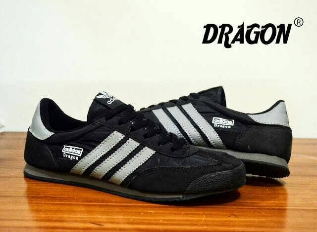 Sepatu casual adidas dragon black grey original premium vietnam 7acd013ebe