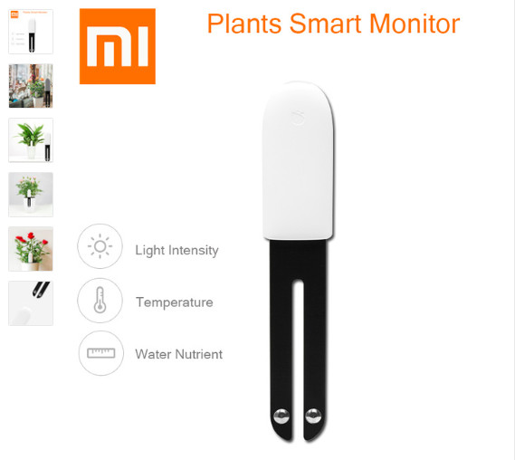 harga Xiaomi flower bunga monitor sensor bluetooth smart flowers gardening Tokopedia.com