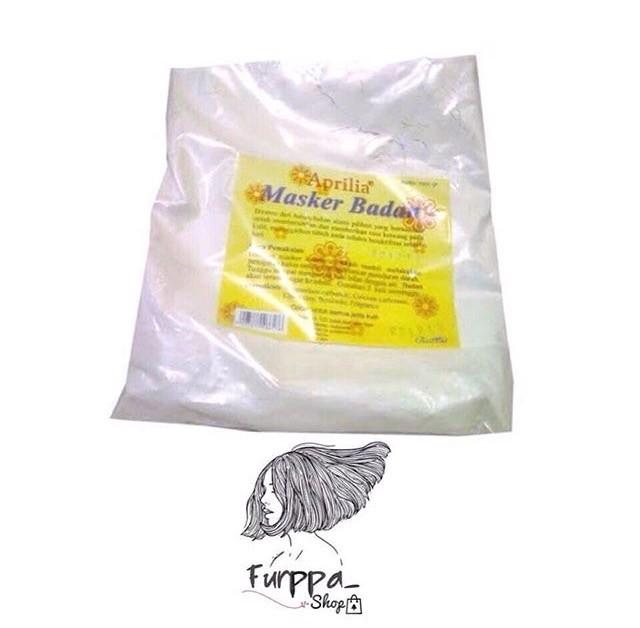 Aprilia Air Mawar 1 Liter Untuk Campuran Masker Powder Mendinginkan Source · MASKER BADAN APRILIA 1Kg