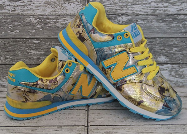Jual Sepatu New Balance 574 Kuning (Running Olahraga Kets Lari ... bc4ecd68d7