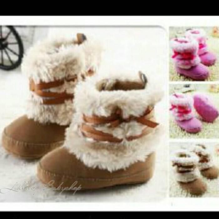 harga Prewalker boots tali 0-1i bulan sepatu anak bayi baby shoes balita Tokopedia.com