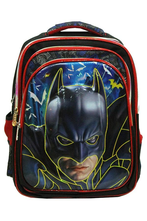 Jual Tas Ransel Anak Import - Marvel Batman Kepala Timbul 4 Kantung ... f2684f4824
