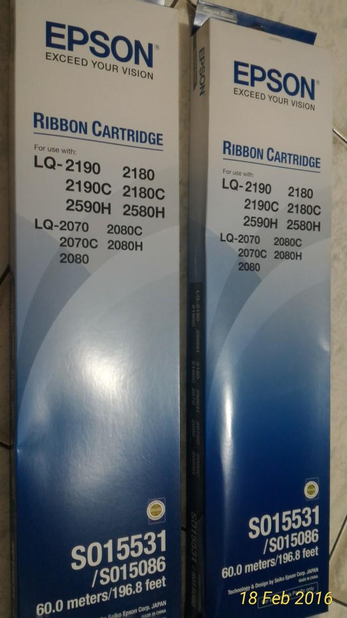 harga Ribbon cartridge epson lq2190 / lq2180 pita printer lq 2190 lq 2180 Tokopedia.com