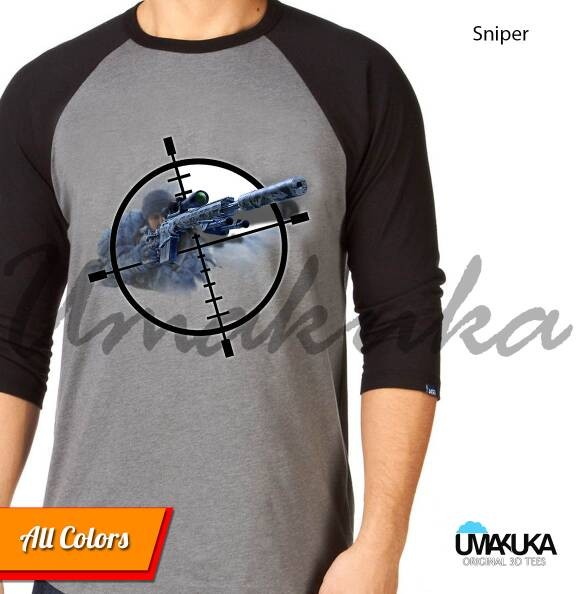 harga Kaos distro 3d umakuka - all about gun( 5 model unik ) Tokopedia.com