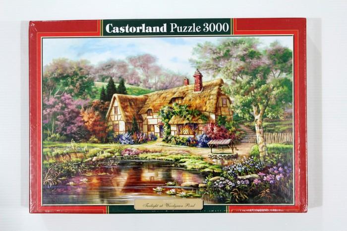 harga Jigsaw Puzzle Castorland : Twilight At Woodgreen Pond - 3000 Pieces Tokopedia.com