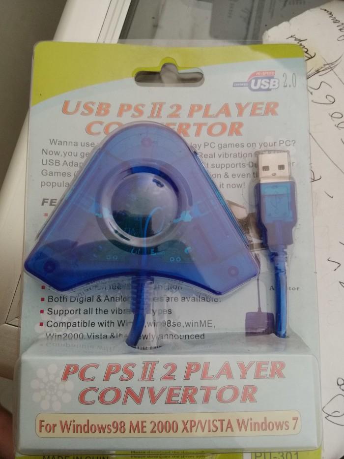 Jual Converter Joystick PS2/PS3 to Usb PC (2 Player) - Kota Surabaya - Toko  Murah Surabaya | Tokopedia