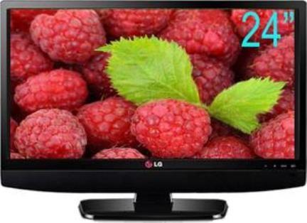 """LG LED MONITOR TV 24"""" 24MT48AF HITAM"""