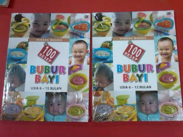 harga 100 resep bubur bayi 6-12 bulan - hindah muaris Tokopedia.com