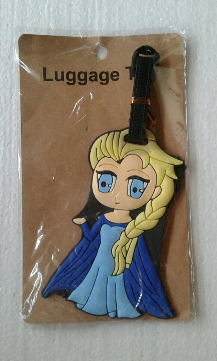 Jual Luggage Tag Gantungan Label Nama Koper Tas Gambar Elsa Frozen Kota Bekasi Reanolshoop