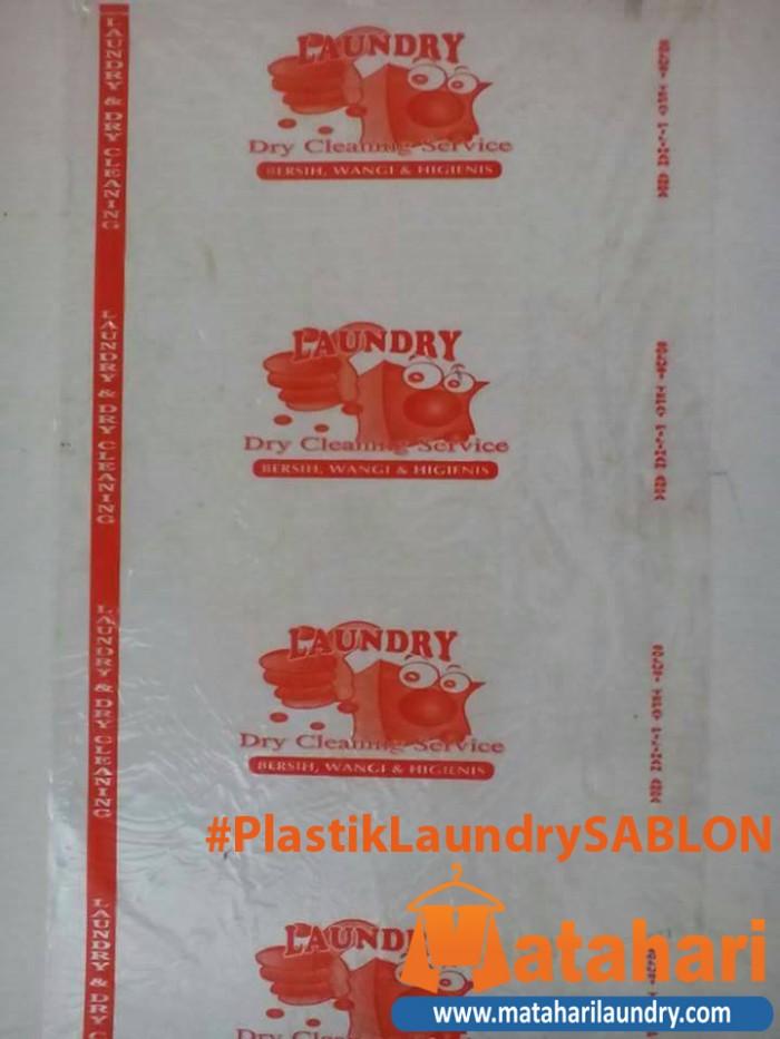 Foto Produk Plastik Laundry SABLON dari Matahari Laundry
