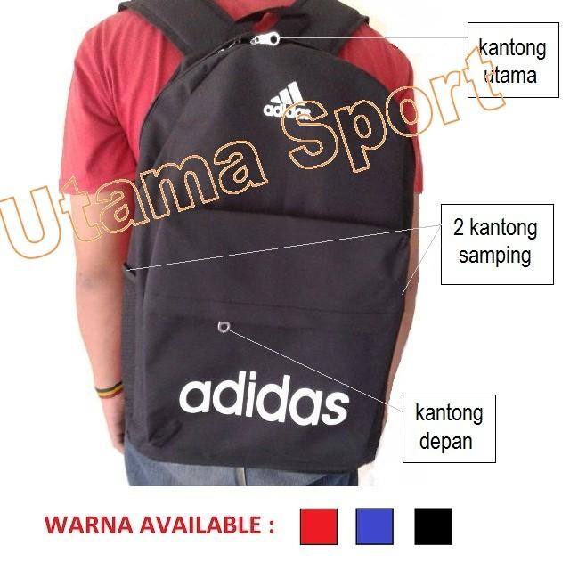 harga Tas ransel adidas nike /backpack :sport gym fitness futsal sekolah dll Tokopedia.com