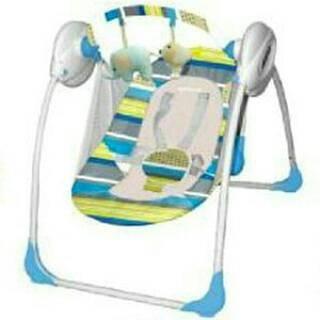 Ayunan Bayi Mamalove Automatic Musical Baby Swing Swinger Bouncer